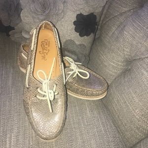 Sperry Top Sider Gold Cup Shoes Woman's 8